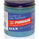 Dax  Super Light Pomade Dry Hair And Scalp Treatment 213g