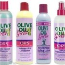 Organic Root Stimulator Kids Olive Oil Shampoo conditioner relaxer and Pudding
