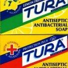 TURA SOAP-PROTECTION PLUS-LEMON FRESH - ANTISEPTIC ANTIBACTERIAL SOAP 75 gm!!