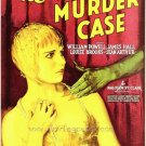 CANARY MURDER CASE 1929 William Powell