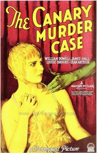 CANARY MURDER CASE 1929 William Powell