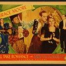 I'LL TAKE ROMANCE 1937 Grace Moore