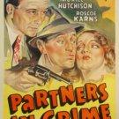 PARTNERS IN CRIME 1937 Roscoe Karnes