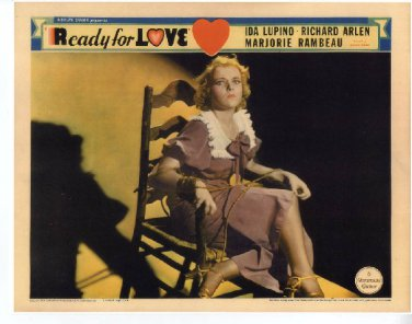 READY FOR LOVE 1934 Ida Lupino