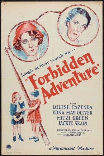 FORBIDDEN ADVENTURE 1931 Mitzi Greene