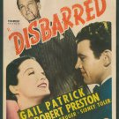 DISBARRED 1939 Gail Patrick