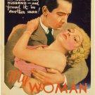MY WOMAN 1933 Helen Twelvetrees