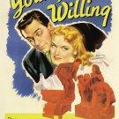 YOUNG AND WILLING 1943 Susan Hayward