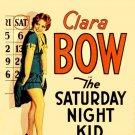SATURDAY NIGHT KID 1929 Clara Bow