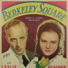 BERKELEY SQUARE 1933 Leslie Howard