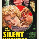 SILENT WITNESS 1932 Lionel Atwill