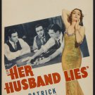 HER HUSBAND LIES 1937 Gail Patrick