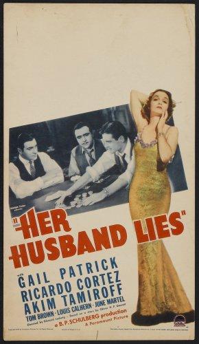 HER HUSBAND LIES 1937 Gail Patrick
