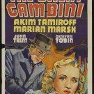 GREAT GAMBINI 1937 Marian Marsh