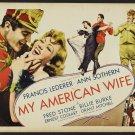 MY AMERICAN WIFE 1935 Ann Sothern