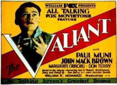 VALIANT 1929 Paul Muni