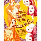 LADIES IN LOVE 1936 Loretta Young Constance Bennett