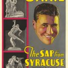 SAP FROM SYRACUSE 1930 Jack Oakie