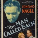 MAN CALLED BACK 1932 Conrad Nagel