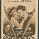INTERFERENCE 1929 William Powell
