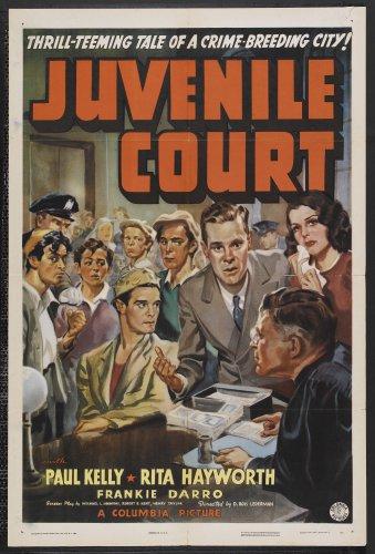 JUVENILE COURT 1938 Rita Hayworth