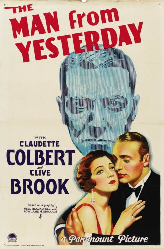 MAN FROM YESTERDAY 1932 Claudette Colbert