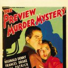 PREVIEW MURDER MYSTERY 1936 Gail Patrick