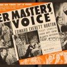 HER MASTER'S VOICE 1936 Edward Everett Horton