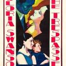 TRESPASSER 1929 Gloria Swanson