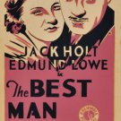 BEST MAN WINS 1935 Edmund Lowe