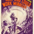 MAN WHO COULD WORK MIRACLES 1937 Roland Young