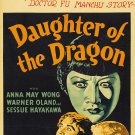 DAUGHTER OF THE DRAGON 1931 Anna May Wong
