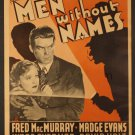 MEN WITHOUT NAMES 1935 Madge Evans