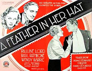 FEATHER IN HER HAT 1935