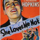 SHE LOVES ME NOT 1934 Miriam Hopkins