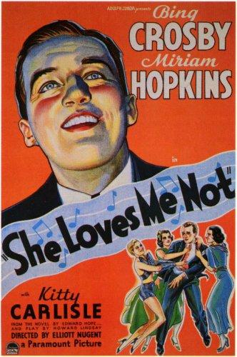 SHE LOVES ME NOT 1934 Miriam Hopkins