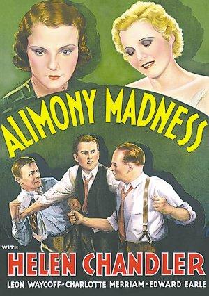 ALIMONY MADNESS 1933 Helen Chandler