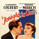 TONIGHT IS OURS 1933 Claudette Colbert