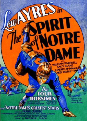 SPIRIT OF NOTRE DAME 1931 Sally Blane