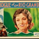 ROGUE OF THE RIO GRANDE Myrna Loy 1930
