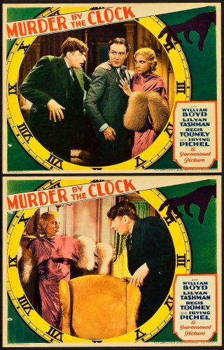 MURDER BY THE CLOCK 1931 William Boyd