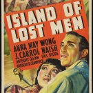 ISLAND OF LOST MEN 1939 Anna May Wong