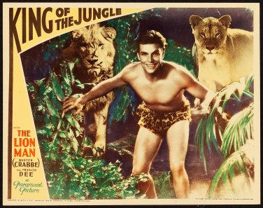 KING OF THE JUNGLE 1933 Buster Crabbe