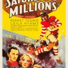 SATURDAY'S MILLIONS 1933 Robert Young