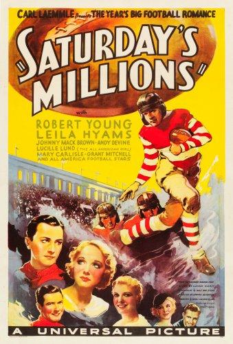 SATURDAY'S MILLIONS 1933 Robert Young