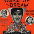 WAKE UP AND DREAM 1934