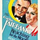 REACHING FOR THE MOON 1930 Douglas Fairbanks