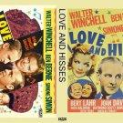 LOVE AND HISSES 1937 Bert Lahr