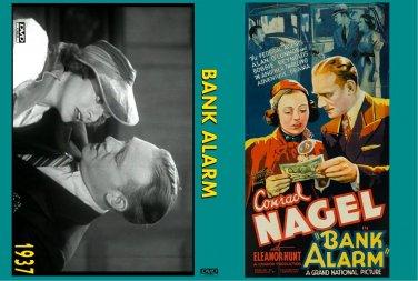BANK ALARM 1937 Conrad Nagel