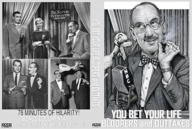 YOU BET YOUR LIFE BLOOPERS AND OUTTAKES Groucho Marx